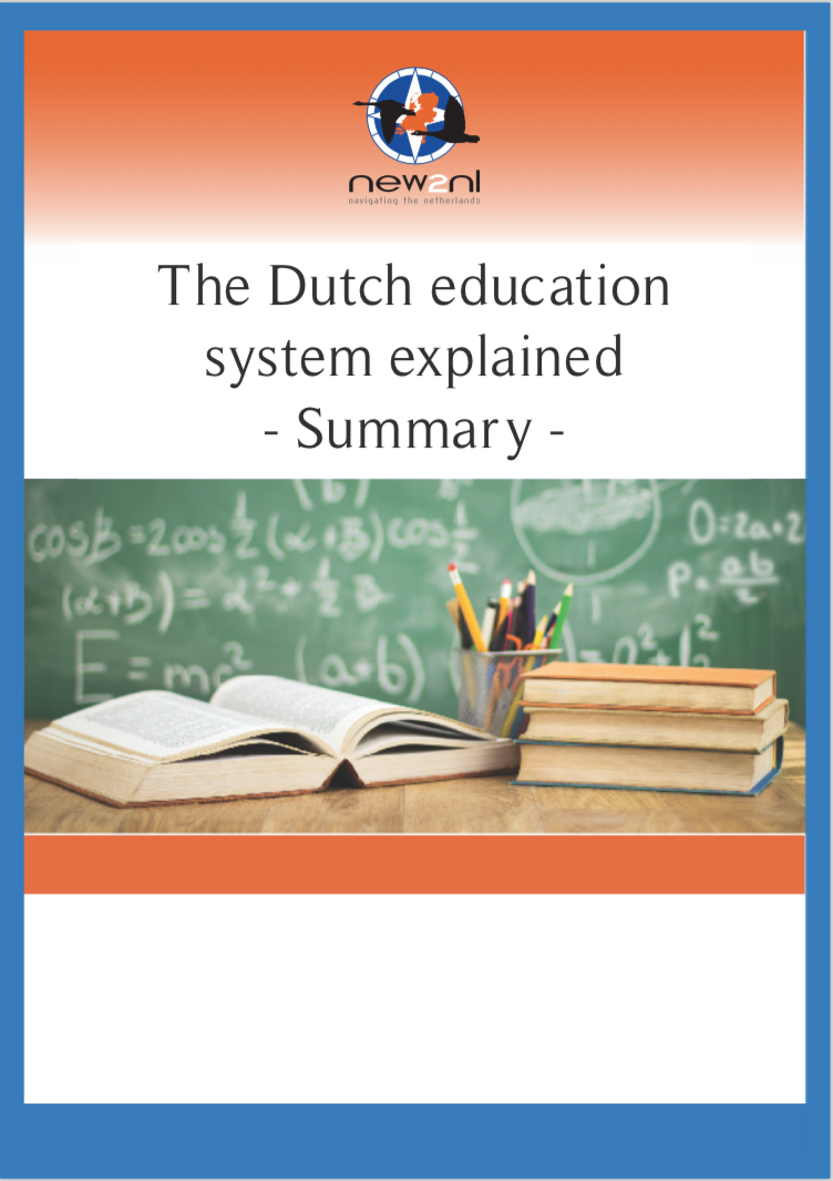 Dutch education system – Summary