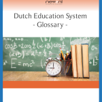 Glossary Dutch education system