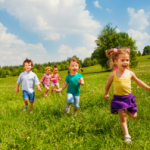 Picture of children playing in nature - Summer 2017