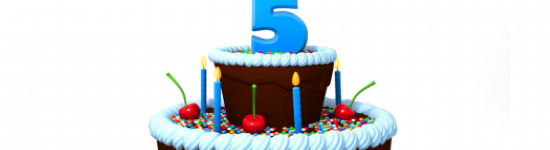 New2nl is 5 YEARS OLD TODAY!